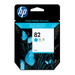 HP 82 cyaan DesignJet inktcartridge, 69 ml