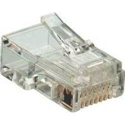 Microconnect KON520 RJ45 Transparant kabel-connector