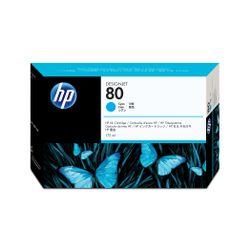 HP 80 cyaan DesignJet inktcartridge, 175 ml