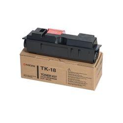 KYOCERA TK-18, Cartridge, Zwart, Laser, FS-1020D, Zwart
