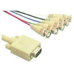 Microconnect VGA-RGB HD15-5XBNC M-M 2M (VGA5BNC)