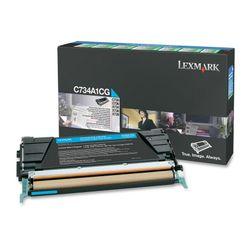 Lexmark C73x, X73x 6K cyaan retourprogr. tonercartr.
