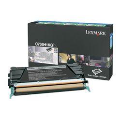Lexmark C736, X736, X738 12K zwarte retourpr. tonercartr.