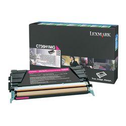Lexmark C736, X736, X738 10K magenta retourpr. tonercartr.