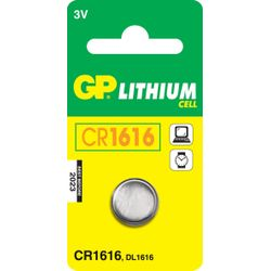 GP Batteries Lithium Cell CR1616-060.1616C1
