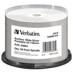 Verbatim 43653 CD-R 700MB 50stuk(s) lege cd