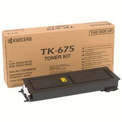 KYOCERA TK-675 Origineel Zwart 1 stuk(s)