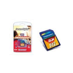 Transcend Transcend 512MB SecureDigital, 0,5 GB, SD, 32 mm, 2,1 mm, 24 mm, 2 g