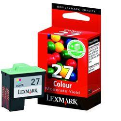 Lexmark Nr. 27 standaard kleuren inktcartridge