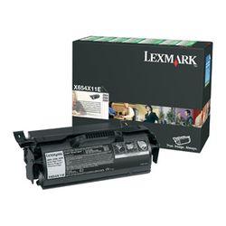 Lexmark X654, X656, X658 36K retourprogr. printcartr.