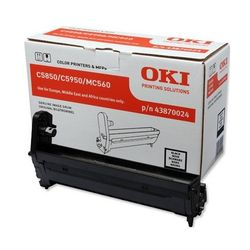 OKI Black image drum for C5850/5950 20000 pagina's Zwart