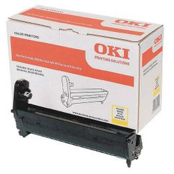 OKI Yellow image drum for C5650/5750 20000pagina's Geel