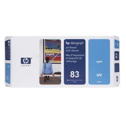 HP 83 cyaan DesignJet UV-printkop en printkopreiniger