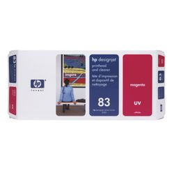 HP 83 magenta DesignJet UV-printkop en printkopreiniger