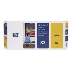 HP 83 gele DesignJet UV-printkop en printkopreiniger