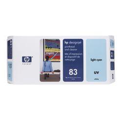 HP 83 licht-cyaan DesignJet UV-printkop en printkopreiniger