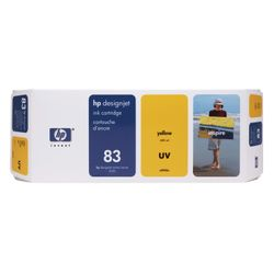 HP 83 gele DesignJet UV-inktcartridge, 680 ml