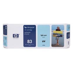 HP 83 licht-cyaan DesignJet UV-inktcartridge, 680 ml