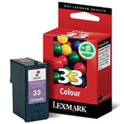 Lexmark Nr. 33 standaard kleuren inktcartridge