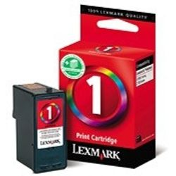Lexmark Nr. 1 standaard kleuren inktcartridge