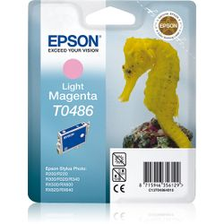 Epson inktpatroon Light Magenta T0486 inktcartridge