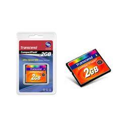 Transcend TS2GCF133 flashgeheugen 2 GB CompactFlash MLC