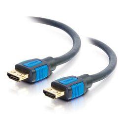 C2G 82377 HDMI kabel 0,5 m HDMI Type A (Standaard) Zwart, Blauw