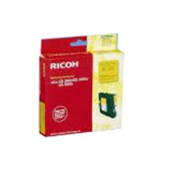Ricoh Regular Yield Gel Cartridge Yellow 1k Geel