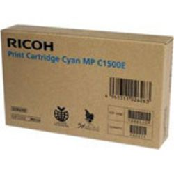 Ricoh Cyan Gel Type MP C1500 Cyaan inktcartridge