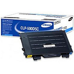 Samsung CLP-500D5C Lasertoner 5000pagina's Cyaan toners &