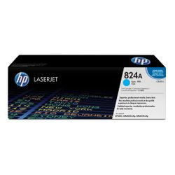 HP 824A originele cyaan LaserJet tonercartridge