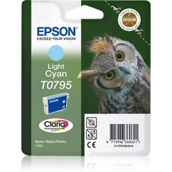 Epson inktpatroon Light Cyan T0795 Claria Photographic Ink