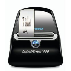 DYMO LabelWriter 450 - Label printer - B/W - direct thermal - 600 dpi x 300 dpi - up to 51 labels/min - USB