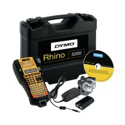 DYMO RHINO 5200 Kit Thermo transfer 180 x 180DPI labelprinter