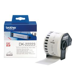 Brother P-Touch DK-Continue Lengte Tape: 50mm - Thermisch papier - wit (30.48m)
