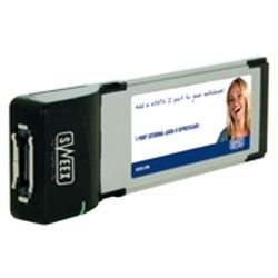 Sweex 1 Port External SATA II Express Card