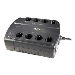 APC Back- 550VA noodstroomvoeding 8x stopcontact, USB UPS
