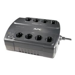 APC Back-UPS 700VA noodstroomvoeding 8x schuko uitgang, USB, 50/60, 47 - 63, Type F (randaarde), Sealed Lead Acid (VRLA), RBC17,