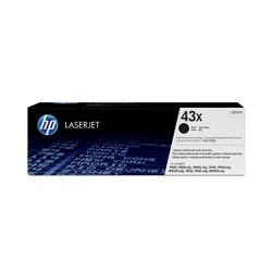 HP 43X Tonercartridge 30000 pagina's Zwart
