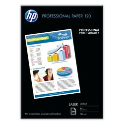 HP Professional Laser Paper, glanzend, 120 gr/m², 250 vel, A4/210 x 297 mm papier voor inkjetprinter
