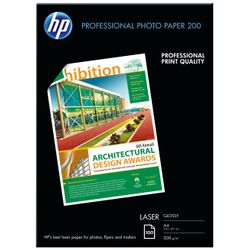 HP Professional Laser Photo Paper, glanzend, 200 gr/m², 100