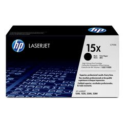 HP 15X Tonercartridge 3500pagina's Zwart