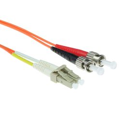 Advanced Cable Technology LC-ST 62,5/125µm OM1 Duplex fiber optic patchkabel 1 stk