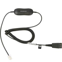 Jabra Smart cord QD -> RJ10 telefoonkabel 2 m Zwart
