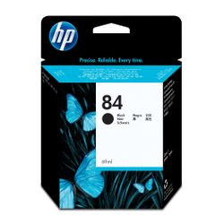 HP 84 zwarte DesignJet inktcartridge, 69 ml