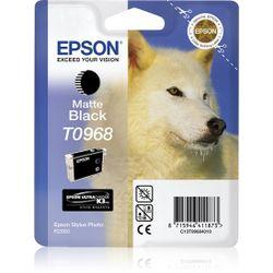 Epson inktpatroon Matte Black T0968