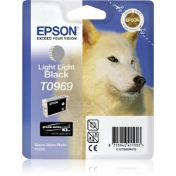 Epson inktpatroon Light Light Black T0969