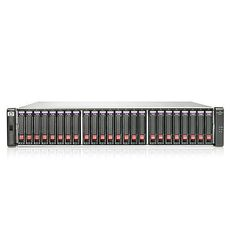 HPE StorageWorks P2000 SFF disk array