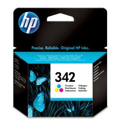 HP 342 originele drie-kleuren inktcartridge