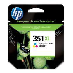 HP 351XL 1 stuk(s) Origineel Hoog (XL) rendement Cyaan, Magenta, Geel